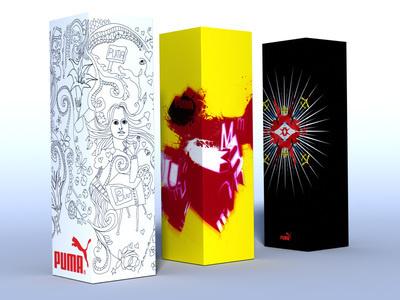 Puma Fragrance Design illustration fragrance puma
