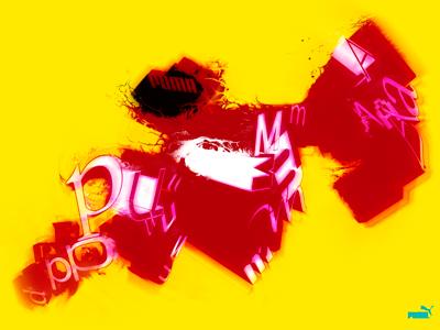 Puma Illustration 3d illustration puma