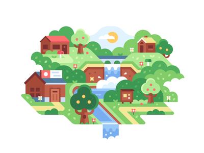 Game Worlds: Neighbors