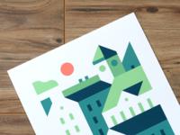 Town #2 (Print)