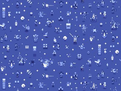 Wallpaper for Discord's LAN Room