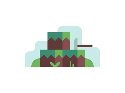 Grass Blocks pickaxe mining video game minecraft