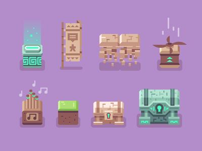Brave Explorers - Blocks + Chests