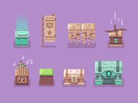 Brave Explorers - Blocks + Chests