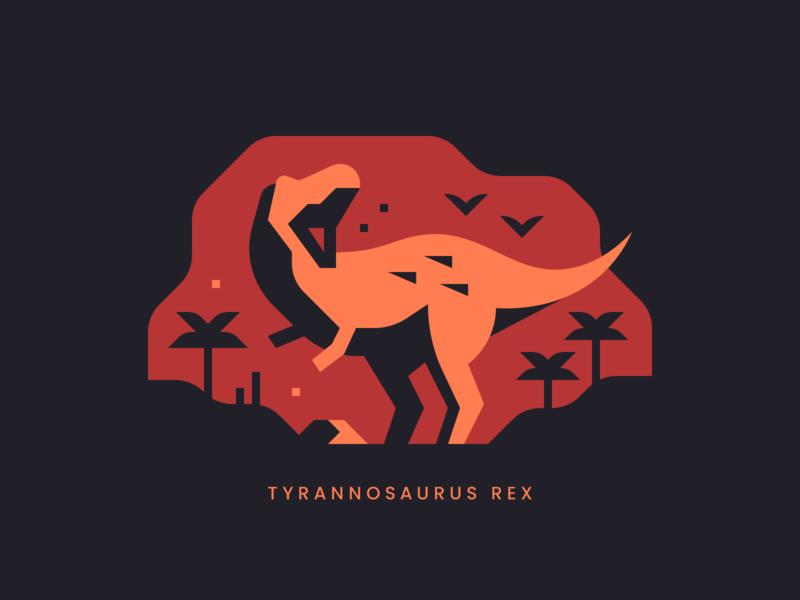 Tyrannosaurus Rex print theropod jurassic dinosaur t-rex trex tyrannosaurus rex tyrannosaurus abstract