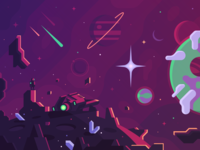 Space Game Concept Art (Snippet)