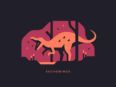 Suchomimus landscape forest cretaceous dinosaurs dinosaur dino nature theropod spinosaurid spinosaurus suchomimus