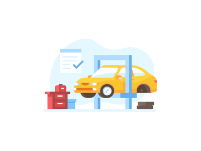 Credit Karma: Auto Recalls insurance credit karma garage workshop sedan vehicle recall mechanic auto car