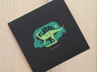 "Spinosaurus (8"" x 8"" Print)"