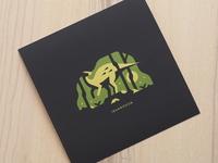 "Iguanodon (8"" x 8"" Print)"