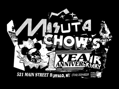 Misuta Chows 1 Year Anniversary