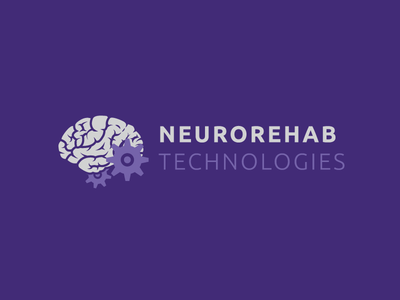 NEUROREHAB TECHNOLOGIES LOGO vector graphic vector logo purple logo technologies neurorehab
