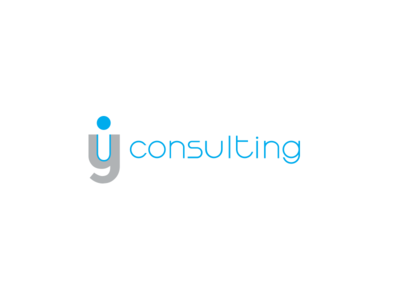 IY Consulting Logo vector icon logo letter mark negative space consulting iy