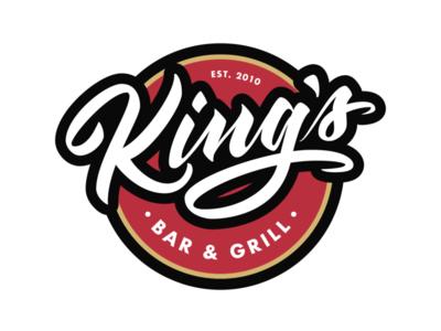 King's Bar & Grill Logo