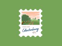 Glastonbury Stamp
