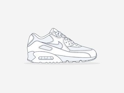 Detail Illustration - Nike Air Max 90