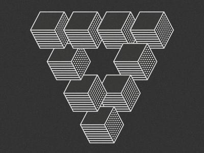 Shape Exploration shapes blending texture pattern digital art digitalart icon graphic design illustration
