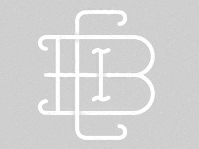 CBI Monogram illustration design graphic icon digitalart art digital pattern texture blending shapes