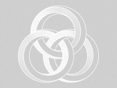 Borromean Rings shapes blending texture pattern digital art digitalart icon graphic design illustration