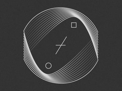 Lines in my mind shapes blending texture pattern digital art digitalart icon graphic design illustration