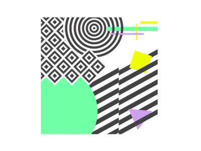 Abstract illustration design graphic icon digitalart art digital pattern texture blending shapes