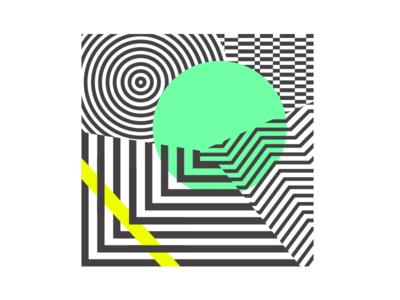 Abstract v2 illustration design graphic icon digitalart art digital pattern texture blending shapes