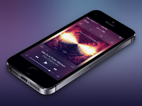Blur Music Player
