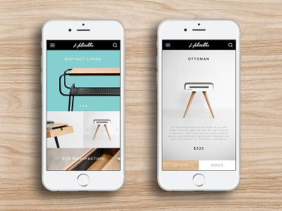 Mobile Store store ui ux concept shop app ios interface