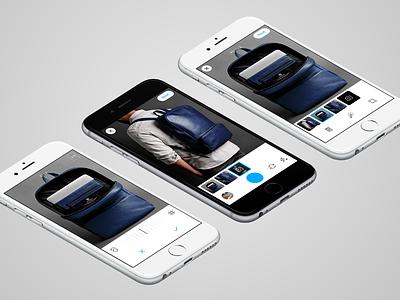 Avito Camera  ecommerce ads edit photo white interface ux ui iphone ios avito