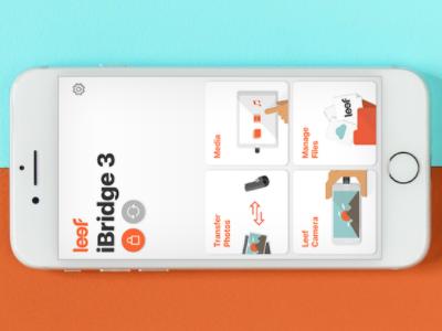 iBridge 3 app ios ux ui