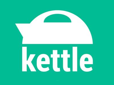 Kettle Logo Concept app icon startup logo