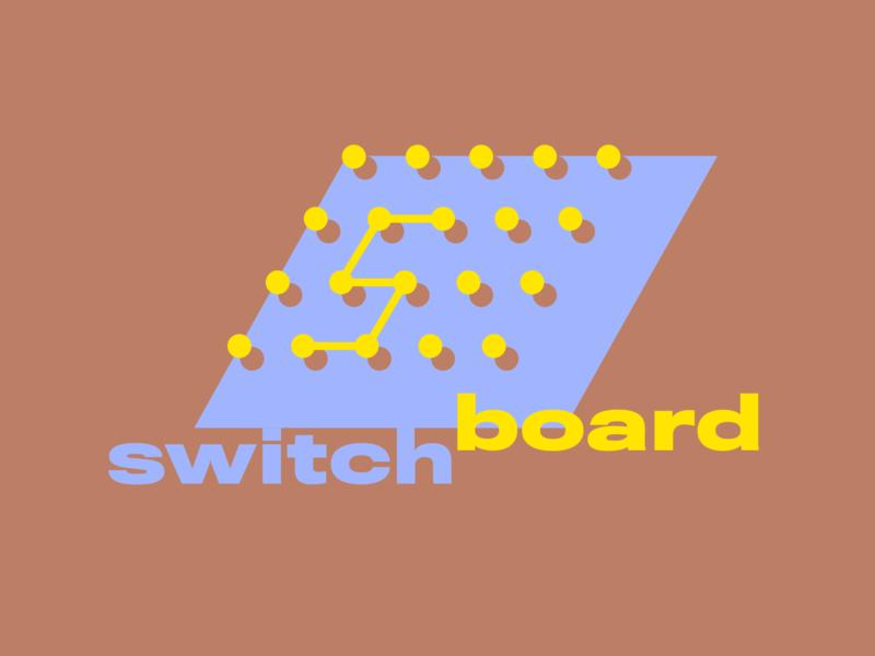 Switchboard Logo vector design brand logo