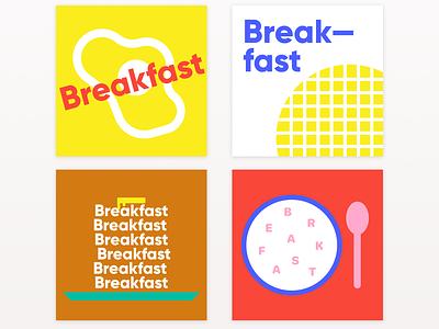 Breakfast! branding graphic design poster design