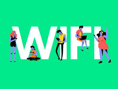 Descomplica WiFi wireless wifi illustration descomplica