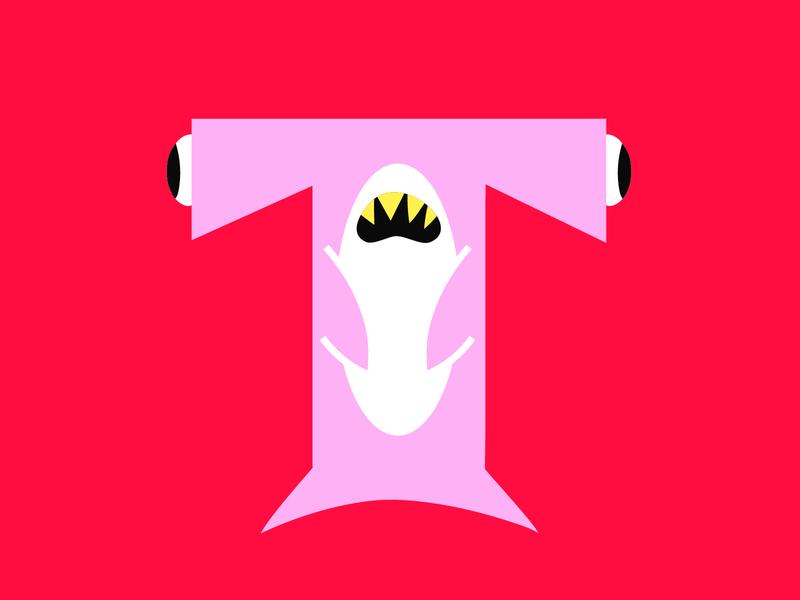 T lettering challenge lettering logo typography illustration type lettering art vector art vector logo letter letters lettering letters for may