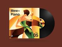 弹钢琴的女人 | Mew~ Piano