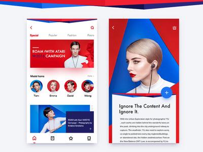 shot first ui,app,design,ios social share