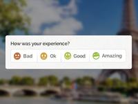 Sploria Experience Ratings