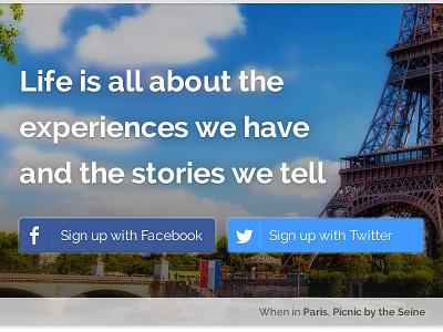 Sploria Signup sploria experience website facebook twitter discover
