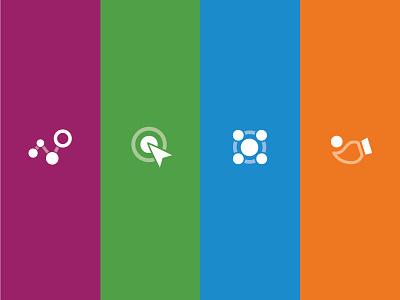 Product Icons platform branding logo icons product