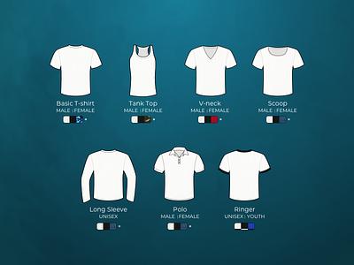 Shirt style illustration ringer long sleeve scoop vneck tank polo shirts illustration vector tshirt shirt design
