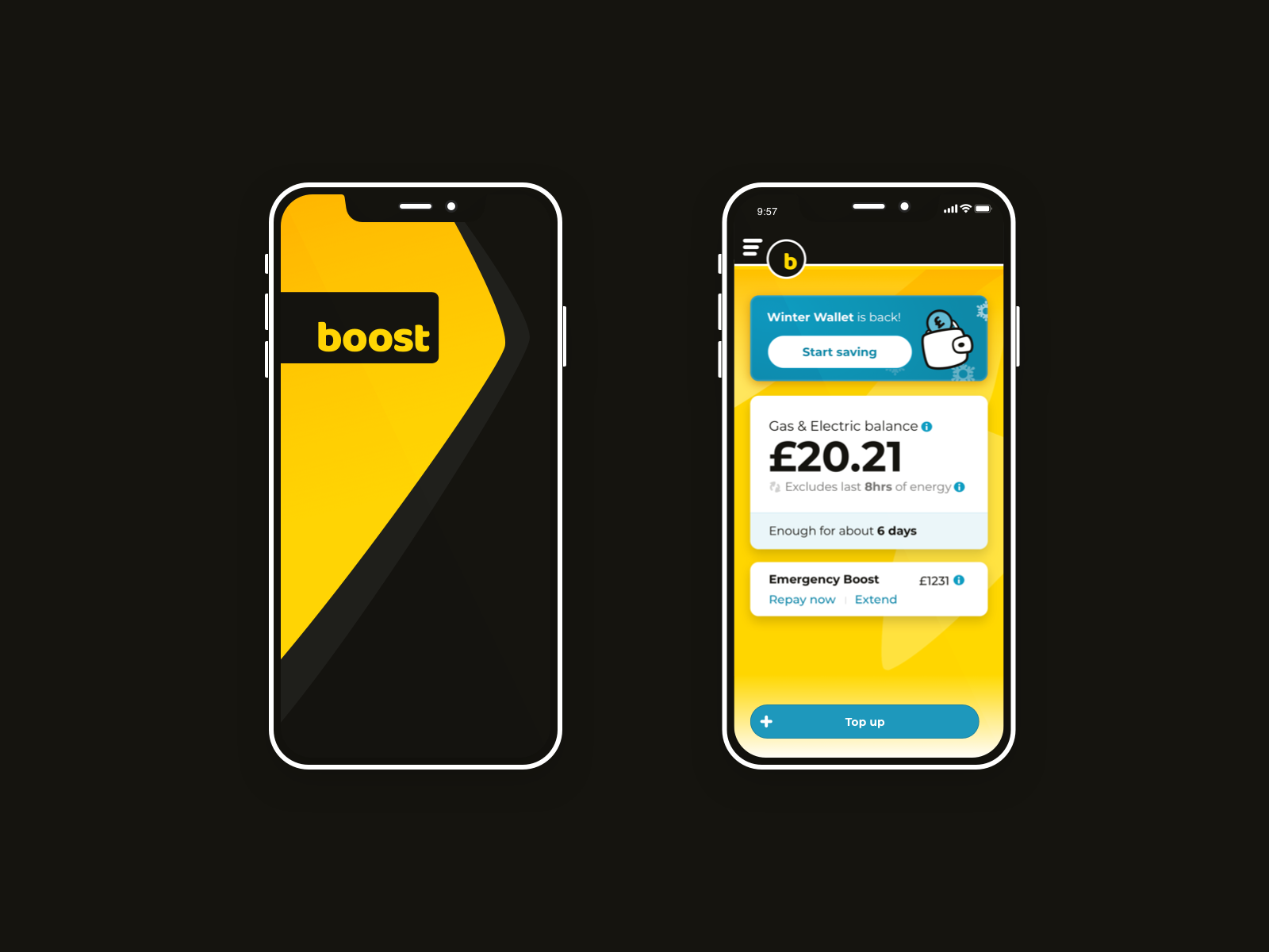 Dribbble - boost mobile app redesign