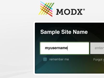 Login Screen cms admin manager