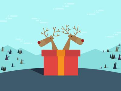 Merry Reindeer.