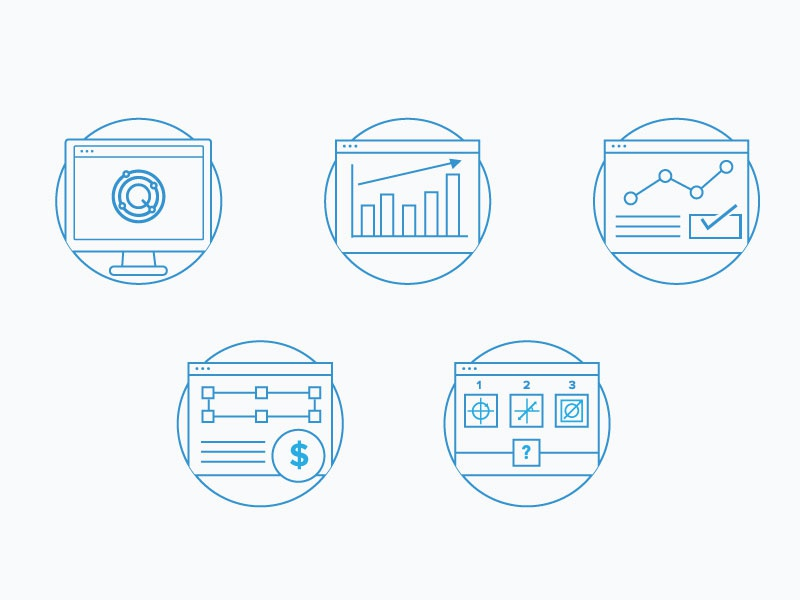 Web Icons by Melissa Tan | Dribbble | Dribbble
