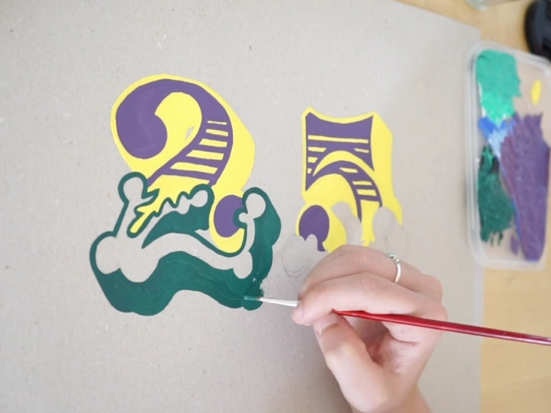 25 sign painting painting scrylic instagram hand lettering typography lettering type 25 thousand sslater6 25