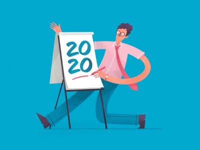 2020 procreate presentation year flipboard 2020 digital illustration