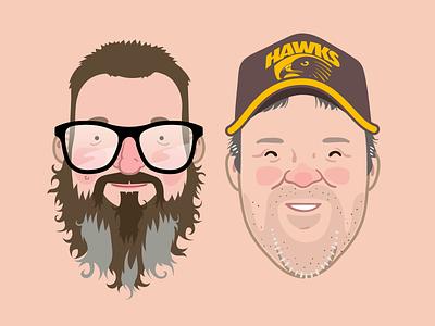 Avatars face avatar portrait vector illustration