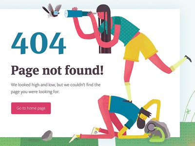 404 looking searching illustration 404