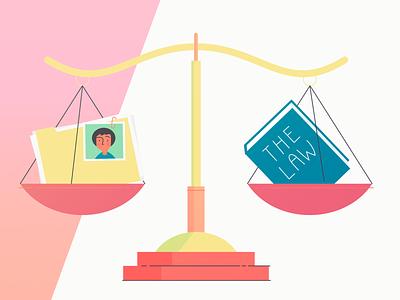 Compliance protection consent records gdpr app legislation data privacy law compliance vector illustration